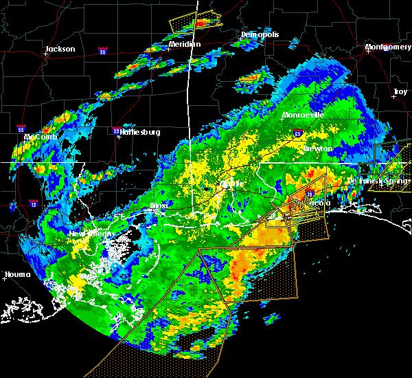 Radar Image for Severe Thunderstorms near Midway, FL at 4/23/2020 2:16 PM CDT