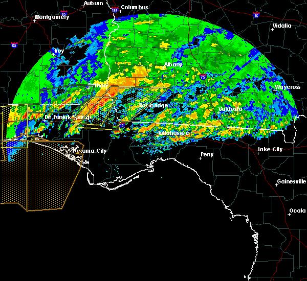 Radar Image for Severe Thunderstorms near Cedar Springs, GA at 4/23/2020 3:45 PM EDT