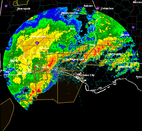Radar Image for Severe Thunderstorms near Destin, FL at 4/23/2020 2:58 PM CDT