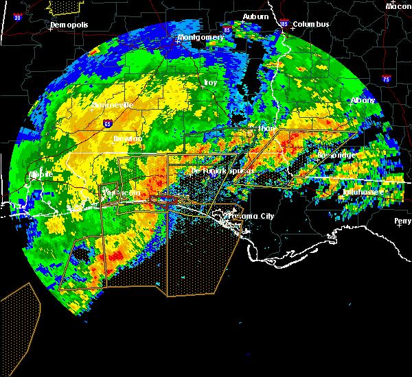 Radar Image for Severe Thunderstorms near Destin, FL at 4/23/2020 3:02 PM CDT