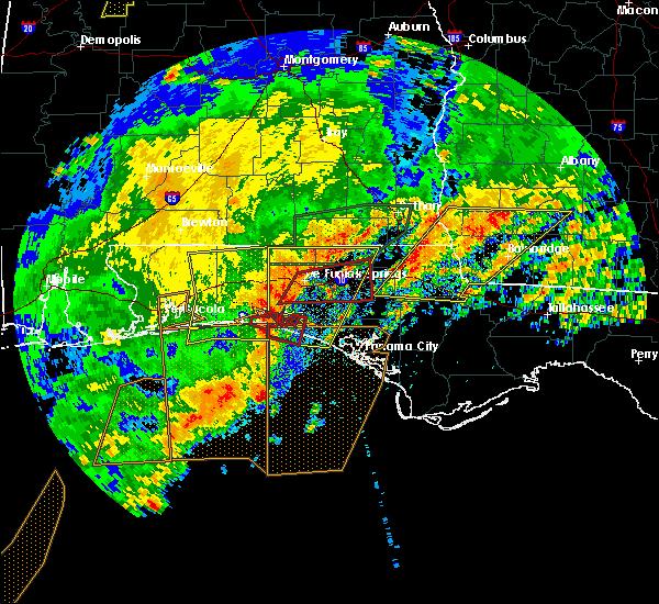 Radar Image for Severe Thunderstorms near Ponce de Leon, FL at 4/23/2020 3:23 PM CDT