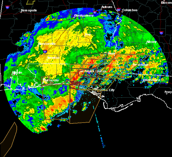 Radar Image for Severe Thunderstorms near Laguna Beach, FL at 4/23/2020 3:28 PM CDT