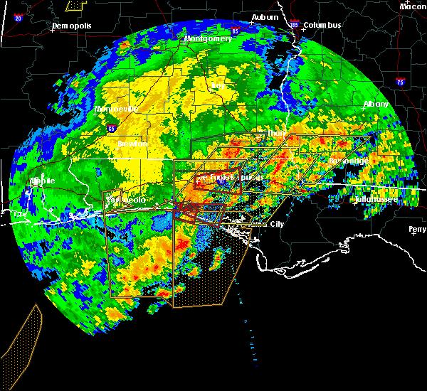 Radar Image for Severe Thunderstorms near Ponce de Leon, FL at 4/23/2020 3:34 PM CDT