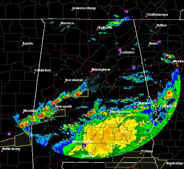Radar Image for Severe Thunderstorms near Demopolis, AL at 4/23/2020 3:44 PM CDT