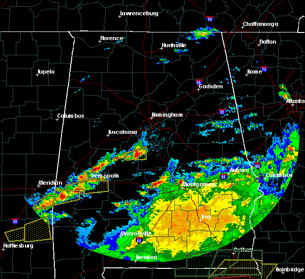 Radar Image for Severe Thunderstorms near Centreville, AL at 4/23/2020 3:59 PM CDT
