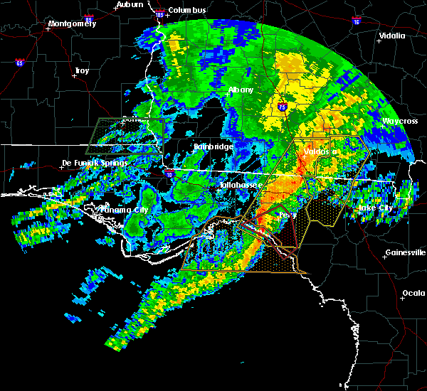 Radar Image for Severe Thunderstorms near Perry, FL at 4/23/2020 7:54 PM EDT