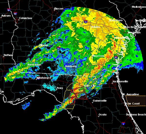 Radar Image for Severe Thunderstorms near High Springs, FL at 4/23/2020 9:05 PM EDT