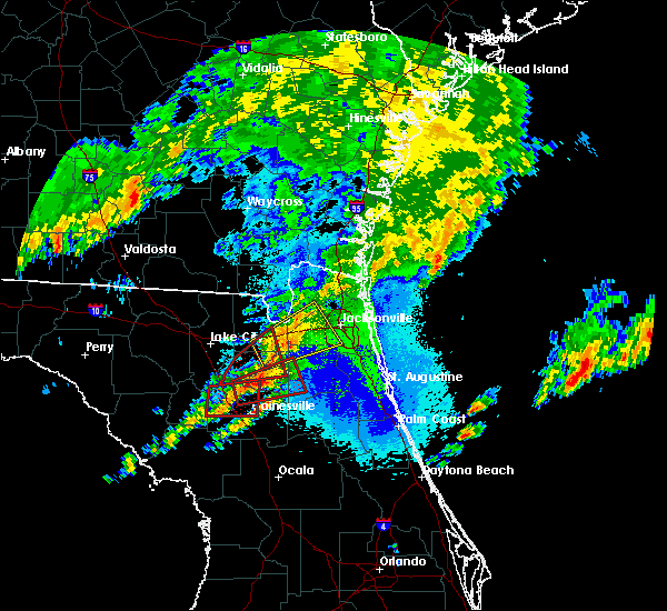 Radar Image for Severe Thunderstorms near Gainesville, FL at 4/23/2020 10:26 PM EDT