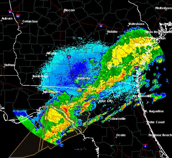 Radar Image for Severe Thunderstorms near Cross City, FL at 4/24/2020 2:07 AM EDT