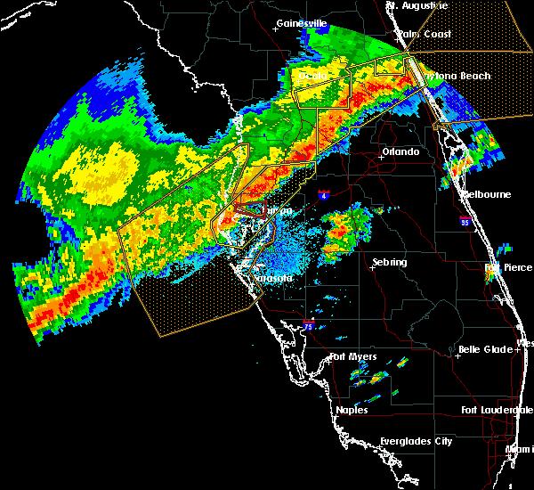 Radar Image for Severe Thunderstorms near University, FL at 4/24/2020 6:01 AM EDT