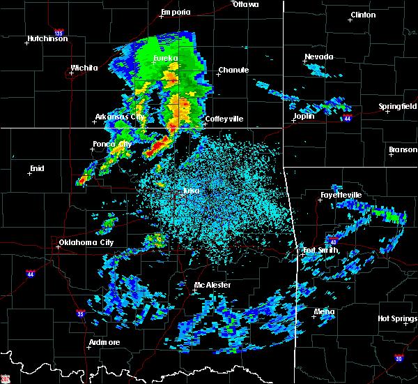 Radar Image for Severe Thunderstorms near Bartlesville, OK at 4/24/2020 4:09 PM CDT