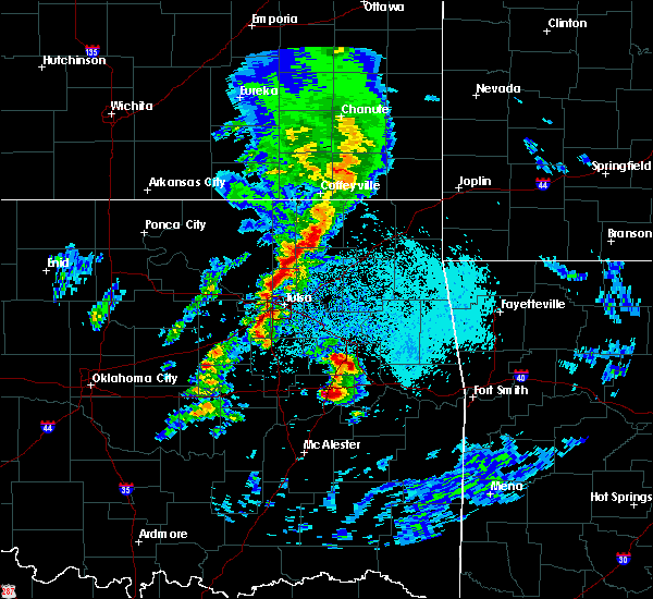 Radar Image for Severe Thunderstorms near Foyil, OK at 4/24/2020 5:21 PM CDT