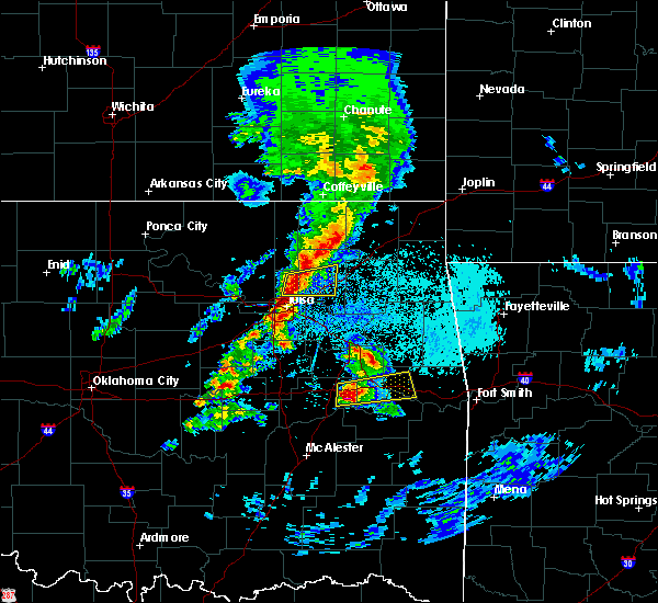 Radar Image for Severe Thunderstorms near Foyil, OK at 4/24/2020 5:36 PM CDT