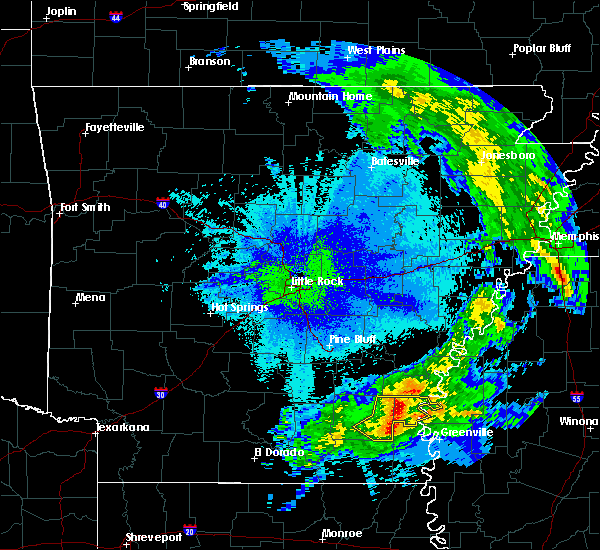 Radar Image for Severe Thunderstorms near Reed, AR at 4/25/2020 2:30 AM CDT
