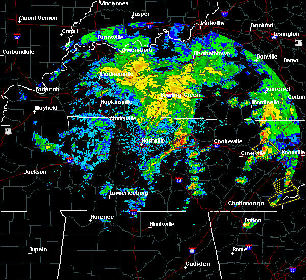 Radar Image for Severe Thunderstorms near Carthage, TN at 4/25/2020 4:54 PM CDT