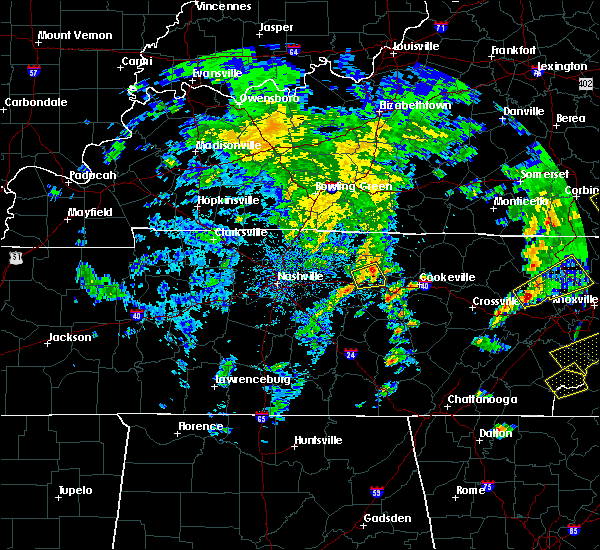 Radar Image for Severe Thunderstorms near Carthage, TN at 4/25/2020 5:14 PM CDT