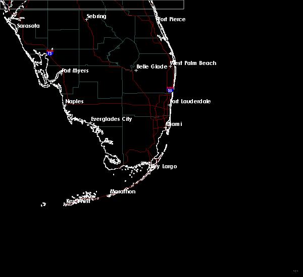 Radar Image for Severe Thunderstorms near Pine Ridge, FL at 4/26/2020 12:43 PM EDT