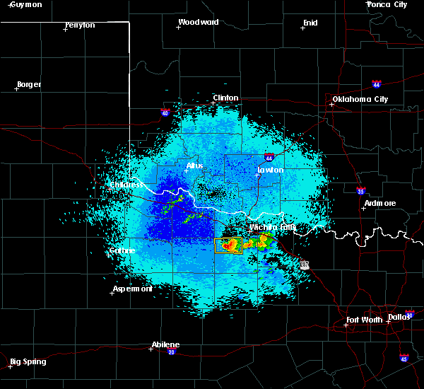 Radar Image for Severe Thunderstorms near Holliday, TX at 4/28/2020 12:50 AM CDT