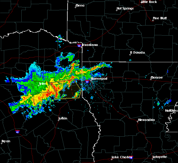 Radar Image for Severe Thunderstorms near Kilgore, TX at 4/28/2020 8:49 AM CDT