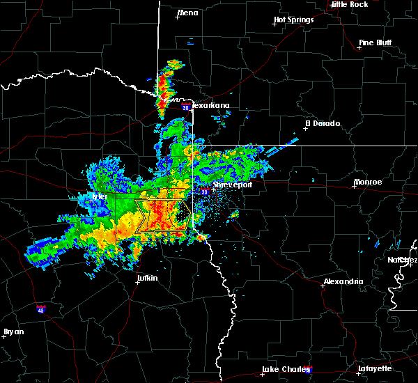 Radar Image for Severe Thunderstorms near Lake Cherokee, TX at 4/28/2020 9:13 AM CDT