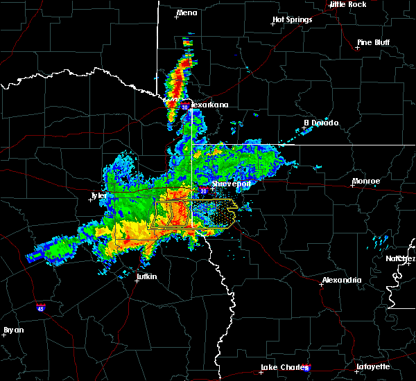 Radar Image for Severe Thunderstorms near Texarkana, TX at 4/28/2020 9:34 AM CDT