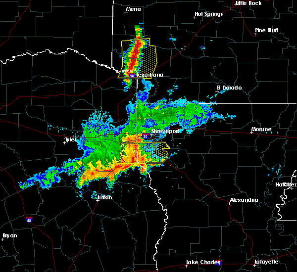 Radar Image for Severe Thunderstorms near Ashdown, AR at 4/28/2020 9:52 AM CDT