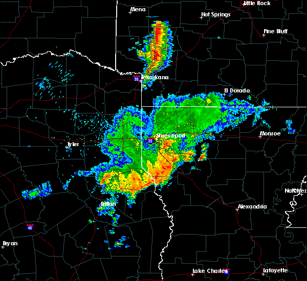 Radar Image for Severe Thunderstorms near Nashville, AR at 4/28/2020 10:28 AM CDT