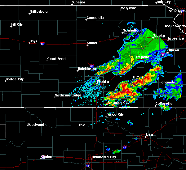 Radar Image for Severe Thunderstorms near Winfield, KS at 4/28/2020 3:42 PM CDT