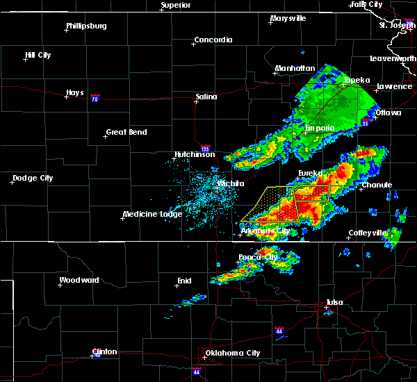 Radar Image for Severe Thunderstorms near Neodesha, KS at 4/28/2020 4:09 PM CDT