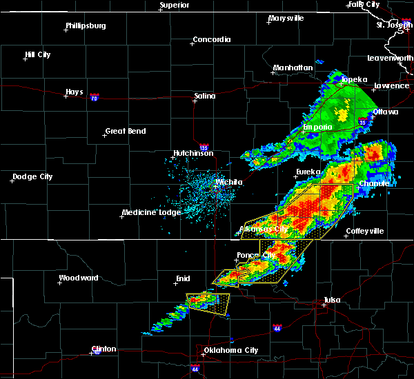 Radar Image for Severe Thunderstorms near Neodesha, KS at 4/28/2020 4:20 PM CDT