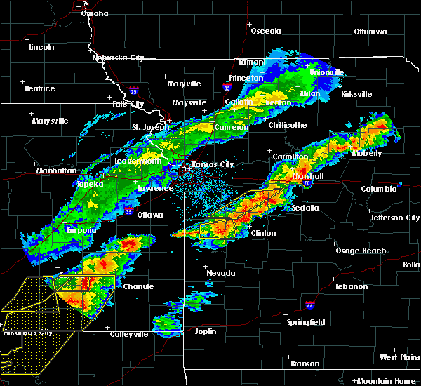 Radar Image for Severe Thunderstorms near Montrose, MO at 4/28/2020 4:22 PM CDT
