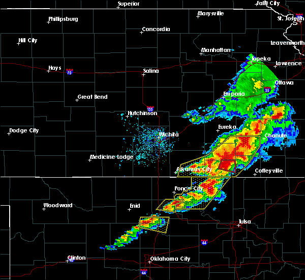 Radar Image for Severe Thunderstorms near Neodesha, KS at 4/28/2020 4:30 PM CDT