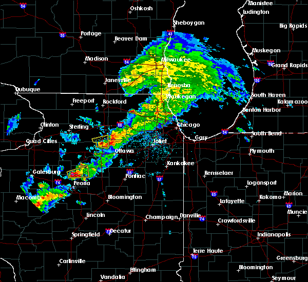 Radar Image for Severe Thunderstorms near Lake Holiday, IL at 4/28/2020 4:48 PM CDT