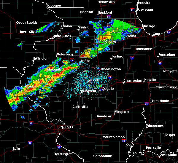Radar Image for Severe Thunderstorms near Henry, IL at 4/28/2020 4:51 PM CDT