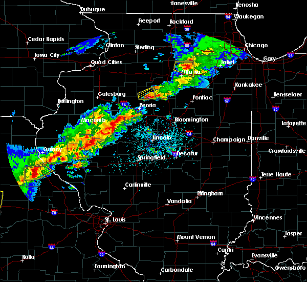 Radar Image for Severe Thunderstorms near Washburn, IL at 4/28/2020 5:10 PM CDT