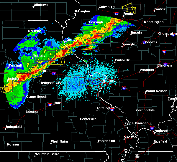 Radar Image for Severe Thunderstorms near New London, MO at 4/28/2020 5:18 PM CDT