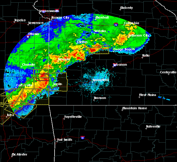 Radar Image for Severe Thunderstorms near Joplin, MO at 4/28/2020 6:00 PM CDT