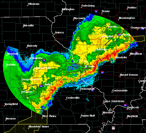 Radar Image for Severe Thunderstorms near Thomasville, MO at 4/28/2020 8:50 PM CDT