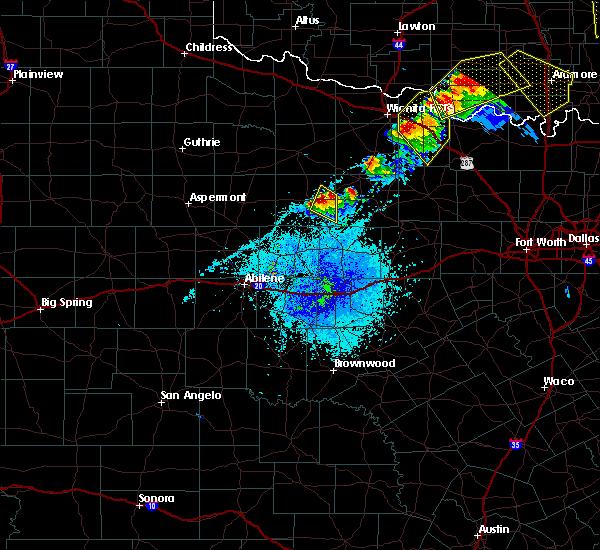 Radar Image for Severe Thunderstorms near Elbert, TX at 4/28/2020 8:52 PM CDT