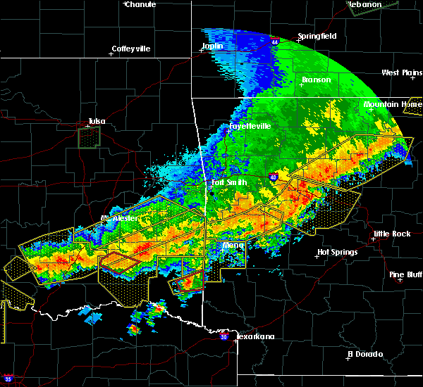 Radar Image for Severe Thunderstorms near Whitesboro, OK at 4/28/2020 9:46 PM CDT