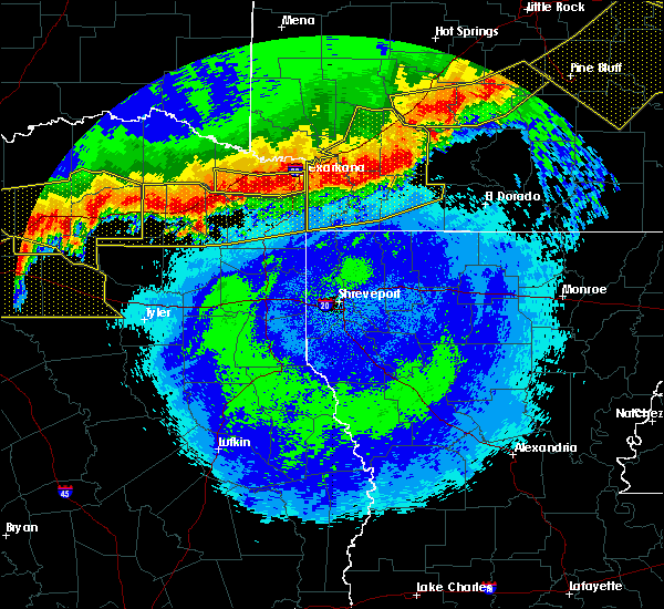 Radar Image for Severe Thunderstorms near Stamps, AR at 4/28/2020 11:55 PM CDT