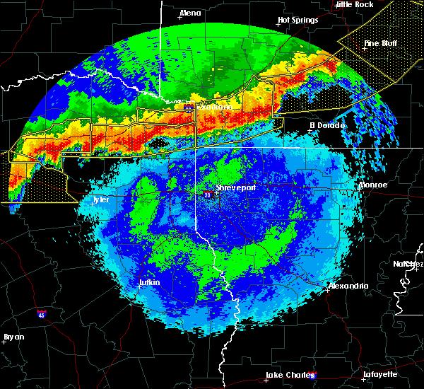 Radar Image for Severe Thunderstorms near Louann, AR at 4/29/2020 12:19 AM CDT