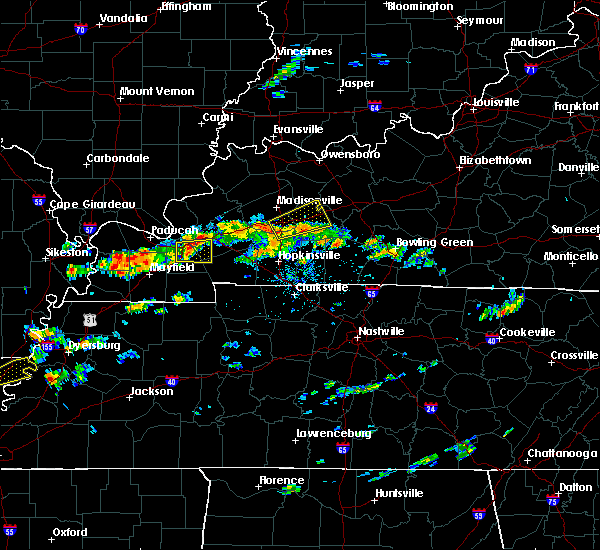 Radar Image for Severe Thunderstorms near Central City, KY at 6/26/2015 1:51 PM CDT