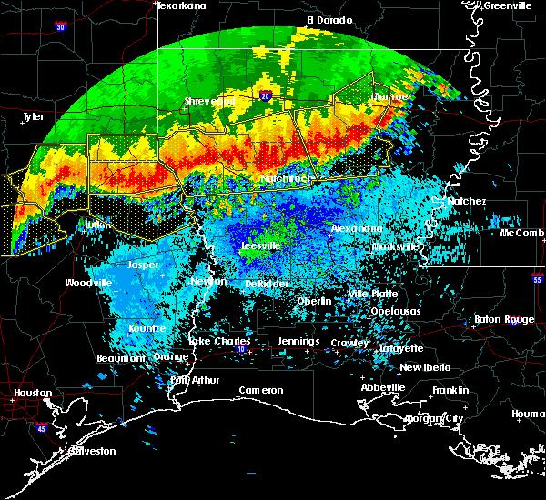 Radar Image for Severe Thunderstorms near Burke, TX at 4/29/2020 2:44 AM CDT