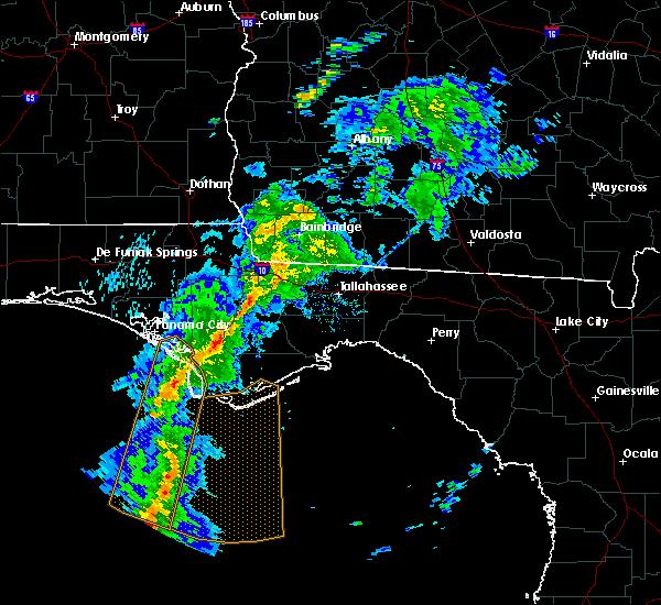 Radar Image for Severe Thunderstorms near Gretna, FL at 4/29/2020 7:15 PM EDT
