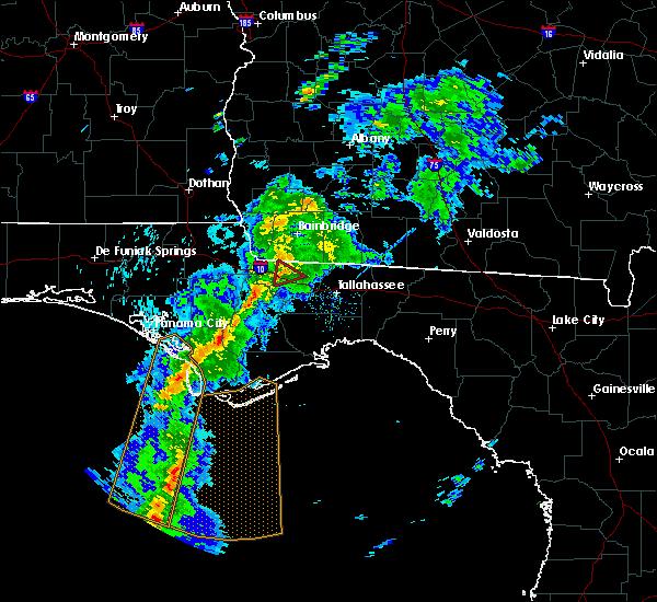 Radar Image for Severe Thunderstorms near Gretna, FL at 4/29/2020 7:23 PM EDT