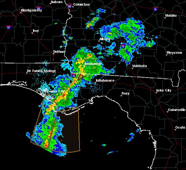 Radar Image for Severe Thunderstorms near Gretna, FL at 4/29/2020 7:36 PM EDT