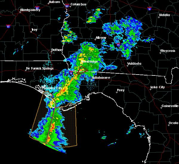Radar Image for Severe Thunderstorms near Gretna, FL at 4/29/2020 7:43 PM EDT