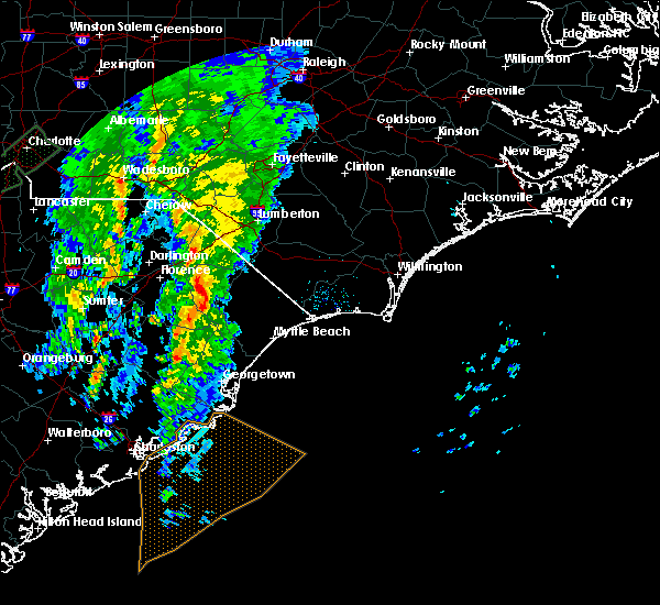 Radar Image for Severe Thunderstorms near Nichols, SC at 4/30/2020 4:34 AM EDT