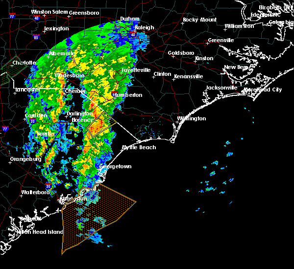 Radar Image for Severe Thunderstorms near Nichols, SC at 4/30/2020 4:49 AM EDT